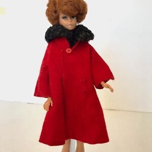 Vintage-1960s-Barbie-Its-Cold-Outside-819-Red-Coat