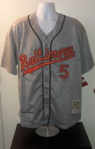 30640e931 Image is loading Brooks-Robinson-Baltimore-Orioles-1966-Mitchell-and-Ness-