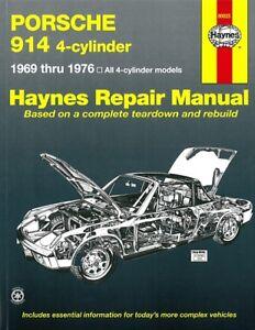 Sonnig Haynes Handbuch Reparaturanleitung/reparatur-buch/vw-porsche GroßE Auswahl; Porsche 914 4zyl