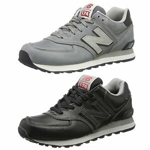 574 new balance leather