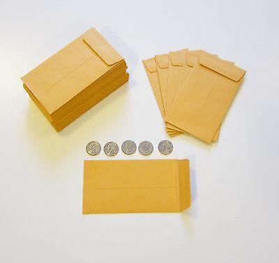 coin envelope sizes