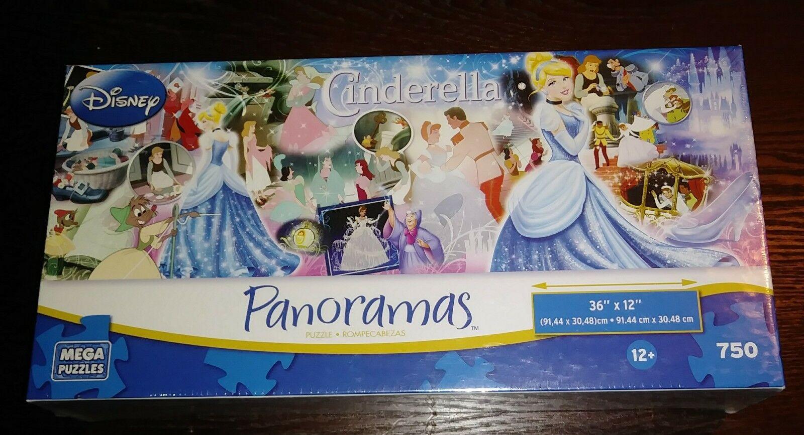 Disney Classics Panoramas Puzzle 750 Pieces Mega Brands