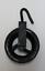 縮圖 1 - Garrucha Of Iron For Pit, Sheave Or Pulley, 14cm Diametro. Rustic