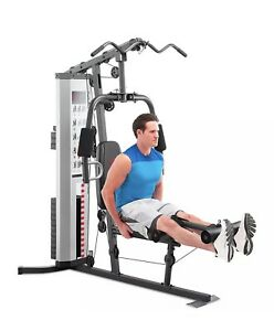 🔥Marcy MWM-988 Home Gym 150lb Adjustable Weight Stack Machine Weights Included