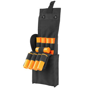 Molle Tactical 25 ROUNDS Shotgun Reload Pouch Ammo Carrier Mag 12 Gauge Case-BLK