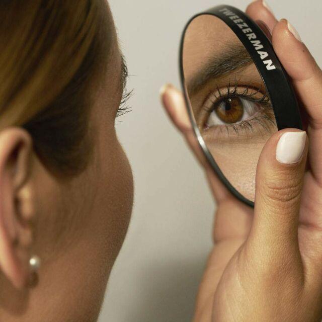 Tweezerman 12x Magnifying Mirror W, Tweezerman Professional Tweezermate 12x Magnifying Mirror