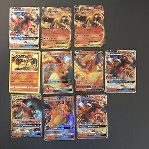 Pokemon-40-Card-Lot-Guaranteed-Charizard-EX-GX-V-Holos-Reverse-Holos-And-Rares