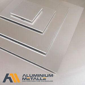 Aluminium Platte 6mm AlMg3 Alu Alublech Aluplatte Blech Alu-Blech Alu-Platte