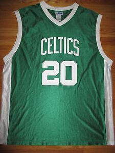 Details about NBA Replica RAY ALLEN No. 20 BOSTON CELTICS (2XL) Jersey