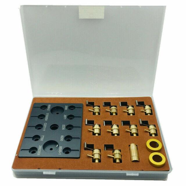 Antique Clock Repair Mainspring Tool 9 piece set