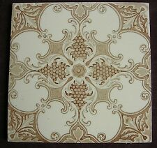 "Perfect Victorian 6"" transfer printed tile c1890"