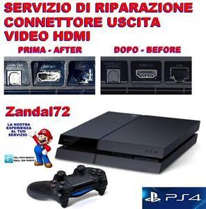 HonnêTe Servizio Di Riparazione Socket Hdmi Rotto Sony Playstation 4 Ps4 Uscita Video Apparence Attractive