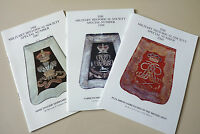 3x British Yeomanry & Light Cavalry Regiments Sabretaches Reference Guide Book