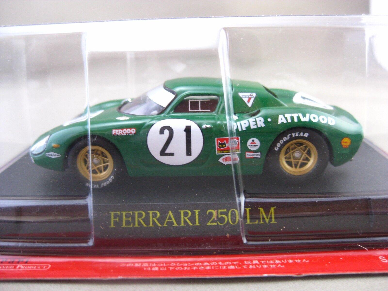 Ferrari 250 LM  hachette 1 43 Diecast voiture Vol.5  magasin en ligne