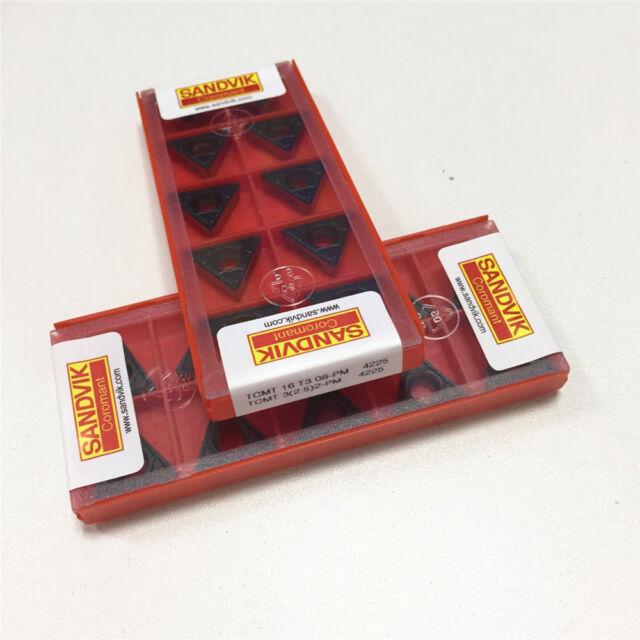 4225 TCMT16T308-PM TCMT3 1box) 2.5 2-PM carbide inserts 10pcs