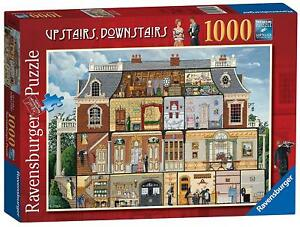 Ravensburger-Puzzle-UPSTAIRS-DOWNSTAIRS-Jigsaw-Game-1000-Piece-Popular
