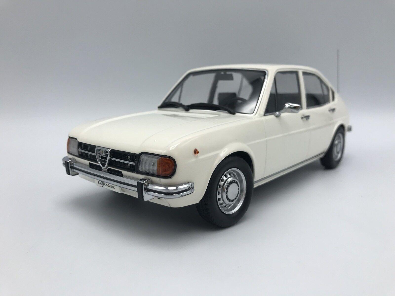 L'achat en deux parties est poli, très satisfait satisfait satisfait Alfa Romeo Alfasud 1974-Blanc 1:18 KK-Scale >> NEUF << | Beau  aa0f62