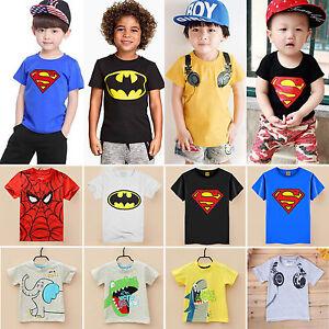 2017-bambini-t-shirt-manica-corta-ragazzi-estivo-casual-maglietta-maglia