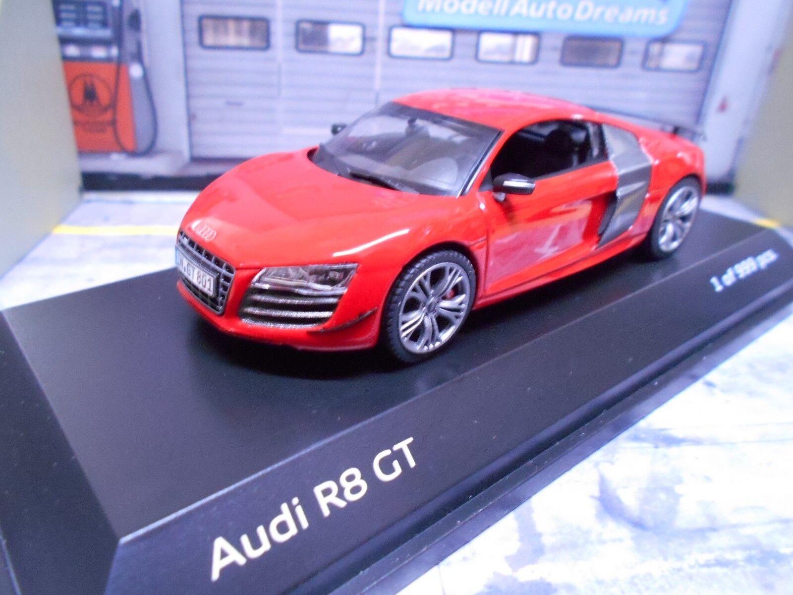 AUDI R8 GT V10 Supersportwagen rot rotKyosho I Scale 1 43  | Spielzeugwelt, glücklich und grenzenlos