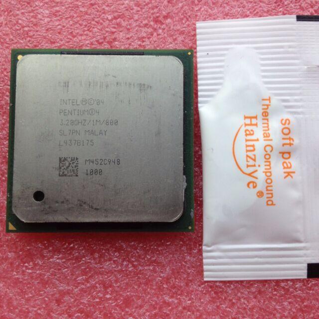 Intel Pentium 4 3.2 GHz 1MB 800 MHz SL7PN/SL7E5 Socket 478 CPU Processor Tested
