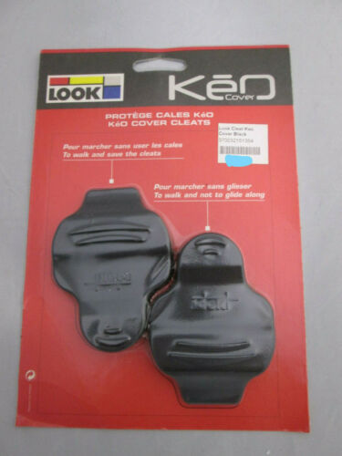 NEW black Look Keo Cleat Cover