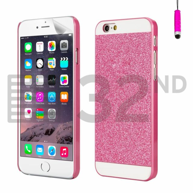 Ultra Slim Sparkle Glitter Case Cover for Apple iPhone 6 6S Samsung Galaxy S5 S6