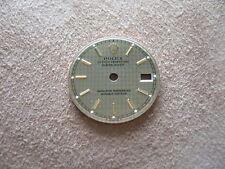 "Rolex DateJust LADY dial gold / silver "" Pied de poule "" NEW Zifferblatt"