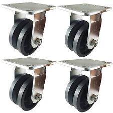 4 X 2 V Groove Caster 4 Rigids