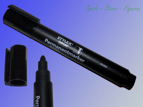 Stylex Toppoint Permanent Marker 4mm round Point Felt Writer Color Pencil