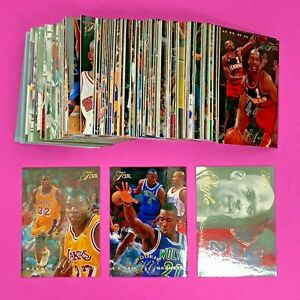 1995-96 FLAIR SERIES 2 COMPLETE 100 CARD SET KEVIN GARNETT RC MICHAEL JORDAN