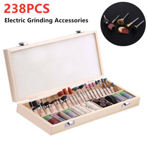 238Piece Dremel Rotary Tool Sanding//Grinding//Polishing//Drilling Accessory Set