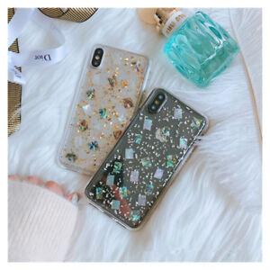 Korean-Fresh-Glitter-foil-shell-Bling-soft-case-Cover-for-iPhone-X-XS-Max-6-7-8