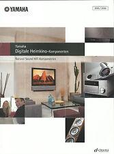 Yamaha Katalog Prospekt YSP1000 MCX1000 MCX2000 DSPZ9 RXV4600 MXD1 YPC1 RX797
