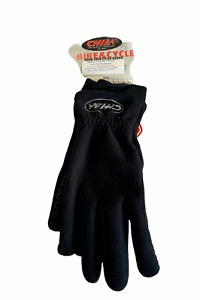 Chiba Windstopper Gore-Tex Cycle Gloves Fleece Material Black Various Sizes NEW