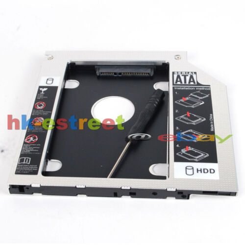 SATA 2nd HD SSD Hard Drive Caddy for Asus VivoBook S550 S550C S550CA S500 S500CA