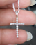 Deal-0-25-CTW-ROUND-DIAMOND-CLUSTER-CROSS-PENDANT-CHARM-IN-14K-GOLD-22-MM thumbnail 8
