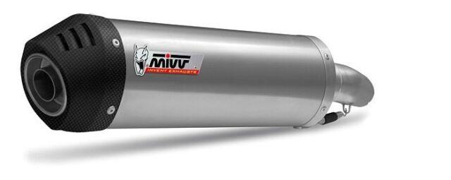 H.020.LNC - Silencieux Echappement Mivv Oval Titan/Carbon Honda CB 600 Hornet