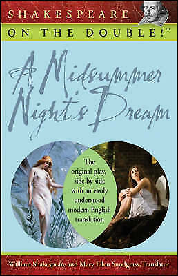 (Good)-A Midsummer Night's Dream (Shakespeare on the Double!) (Paperback)-Shakes