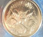 "1996 SPECIMEN 5c "" Echidna "" FIVE CENT UNC EX Mint set VERY SCARCE IN 2X2"