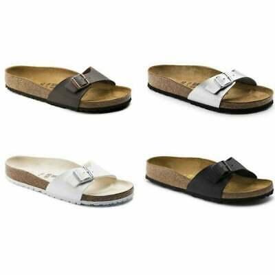 tira Tía Aislar  Birkenstock Madrid Birko-Flor Womens Sandal in Various Colours and Sizes |  eBay