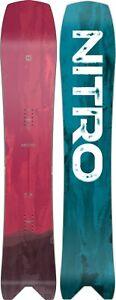 Nitro-Squash-Men-039-s-Snowboard-159-cm-Directional-Swallowtail-New-2021