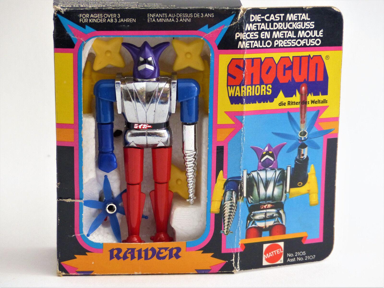Shogun warriors (ororak Grendizer)-Figurine Raider-Mattel-1979-Rétro-En boîte