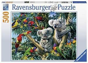 Ravensburger-Jigsaw-Puzzle-KOALAS-IN-TREE-Cute-Animals-500-Piece