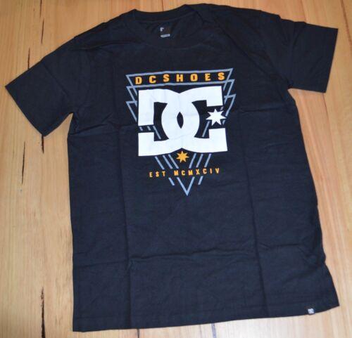 DC Shoes Boys Printed T Shirt BLACK NEW SIZES- 10,12,14 /& 16 YEARS