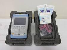 New Rohde Amp Schwarz Fsh18 10mhz 18ghz Handheld Spectrum Analyzer