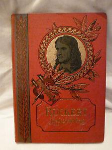 Buch-Friedrich-Rueckert-Liebesfruehling-Prachtausgabe-rot-antik-Literatur