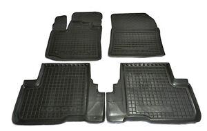 Dacia-Lodgy-2013-5p-Rubber-Car-Floor-Mats-All-Weather-Carmats-Alfombrillas-Goma