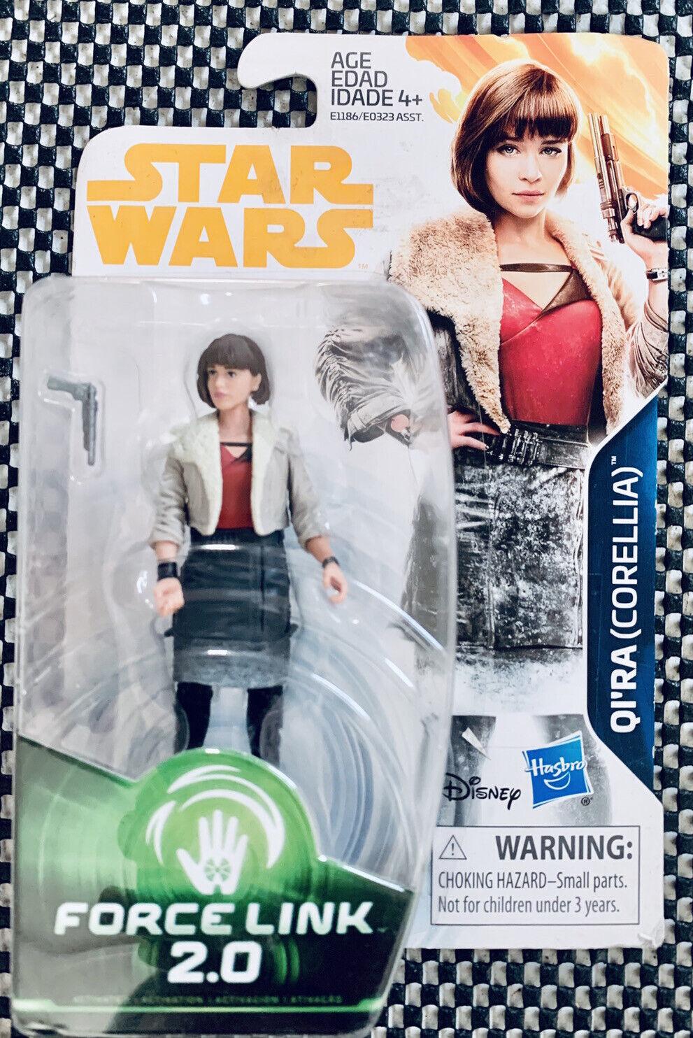 Star Wars Force Link 2.0 QI/'RA Corellia figure NIB Factory Sealed