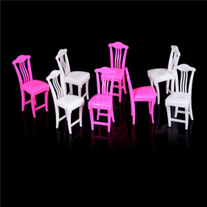 4pcs//lot Nursery Baby High Chair Table chair 1//6 for  Doll/'s House TO