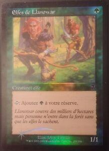Elfes-de-Llanowar-PREMIUM-FOIL-VF-7eme-edition-French-Llanowar-Elves-7th-Mtg
